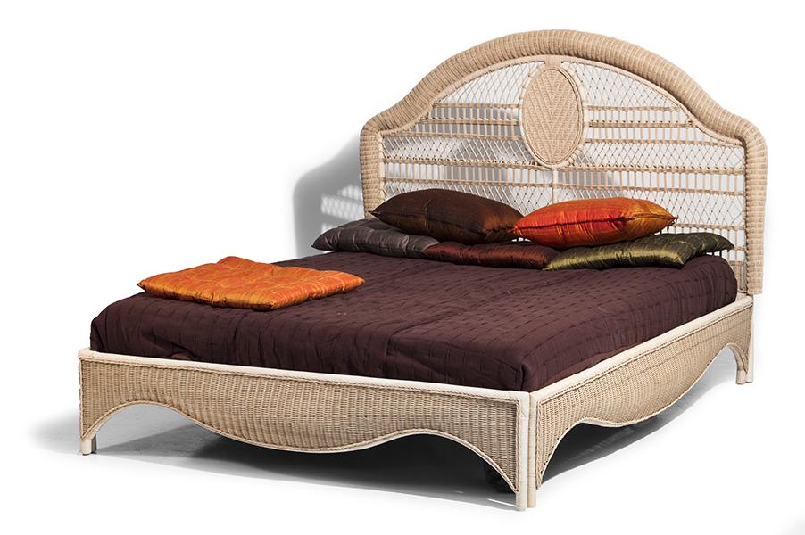 Mobili In Midollino Rattan.Bed Soul Wicker 180x200 Mobili In Rattan